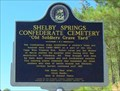 Image for Shelby Springs Confederate Cemetery - Calera, AL