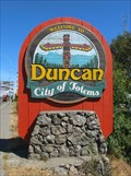 Image for Welcome to Duncan - City of Totems - Duncan, BC
