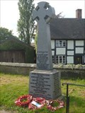Image for First World War Memorial - Astbury, Cheshire, UK.
