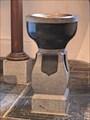 Image for Baptism Font - Vogelsangkirche - Oberstolberg, Nordrhein-Westfalen / Germany