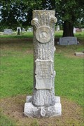 Image for Kennie O.V. Trout - Rose Hill Cemetery - Wapanucka, OK