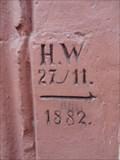 Image for High Water Marker 'Mittelgasse 3' Neustadt, Germany, RP