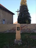 Image for Christian Cross near church of St. Jacob - Prelouc - Czech Republic