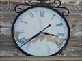 Image for Adams Hotel Clock - Lavina, MT