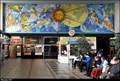 Image for Znamení zverokruhu na mozaice v hale Pardubického hlavního nádraží / Zodiac signs on mosaic in hall of Pardubice main station (East Bohemia)