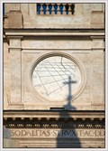 Image for Sundial on the church of the Santissima Trinità dei Monti, Rome, Italy