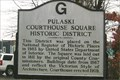 Image for Pulaski Courthouse Square Historic District - Pulaski, TN