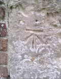 Image for Cut mark on the Church of St.Mary, Little Bentley, Essex. CO7 8SH.