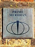 Image for Prime Meridian Marker - Chesterfield Walk, Greenwich, UK