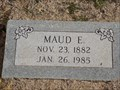 Image for 102 - Maud E. Jernigan - Summit View Cemetery - Guthrie, OK