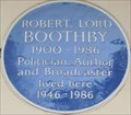 Image for Robert, Lord Boothby - Eaton Square, London, UK