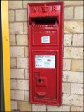 Image for Wall Mounted Post Box, Loughborough Railway Station.