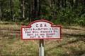 Image for Dent's Alabama Battery (CSA) Sign - Chickamauga National Battlefield