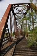 Image for Cotton Belt RR Bridge -- Brazos River, Waco TX