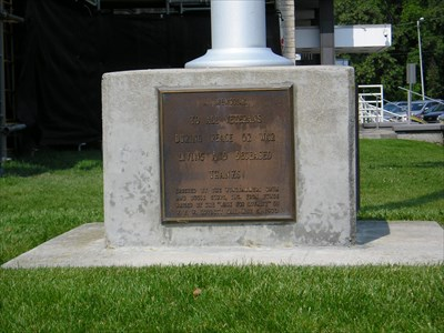 Area Picture for Civil War Draft Riot Marker