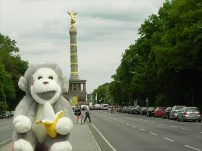 Mr. Ernest H visited Siegessäule - Berlin, Germany