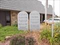 Image for Ten Commandments - Holy Bible -- Rush Springs, OK
