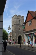 Image for St George the Martyr Church Tower -- Canterbury, Kent, UK