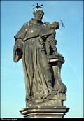 Image for St. Anthony of Padua with Infant Jesus on Charles Bridge / Sv. Antonín Paduánský s Ježíškem na Karlove Moste (Prague)
