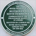 Image for Beethoven's Ninth Symphony - Regent Street, London, UK