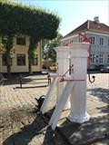 Image for To hvide vandpumper - Ærøskøbing, Danmark