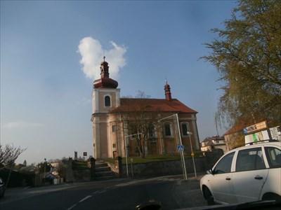 The Church of St. Jacob, Mnichovo Hradiste