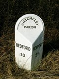 Image for A422 Milestone - Chicheley, Buckinghamshire, UK