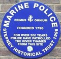 Image for Marine Police - Wapping High Street, London, UK
