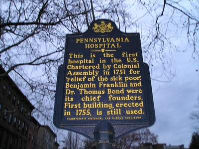 OLDEST - Hospital in the United States of America - Philadelphia, PA