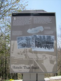 Hands That Built Sign, Newfound Gap, North Carolina