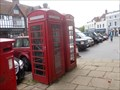 Image for Red Phone Boxes in Westerham, Kent. UK