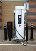 Image for Car Charging Station, Weaver's Wharf, Kidderminster, Worcestershire, England