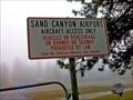 Image for Sand Canyon Airport - Chewelah, WA
