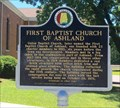 Image for First Baptist Church of Ashland - Ashland, AL
