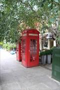 Image for Red Telephone Boxes - St John's Wood Terrace, London, UK