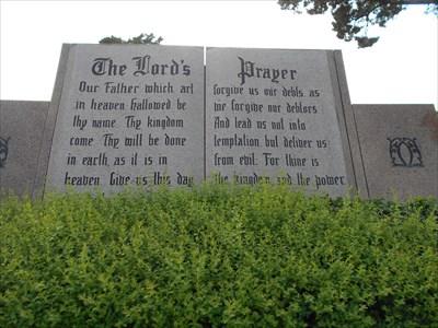 The Lord\'s Prayer - Hillcrest Memorial Gardens - Spencer, OK ...