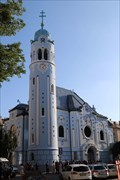 Image for Blue Church - Bratislava, Slovakia