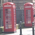 Image for Pair of Red Telephone Boxes - Liverpool, Merseyside, UK.