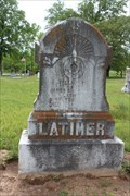 Image for William M. Latimer - Cuthand Cemetery - Cuthand, TX