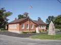 Image for First Public School in Michigan - Bridge School - Raisinville Township, Michigan