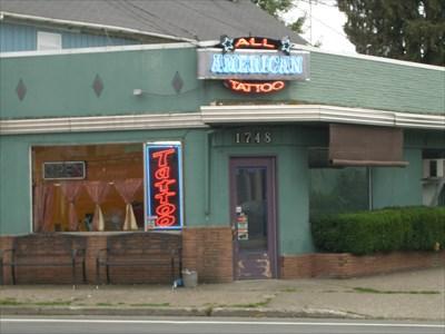 All american tattoo salem oregon tattoo shops parlors for Tattoo shops in salem ma