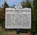 Image for Return From Kentucky 1B-54