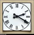 Image for Clock on Dolní Brežany Municipal Office / Hodiny na obecním úrade Dolních Brežan - Dolní Brežany (Central Bohemia)