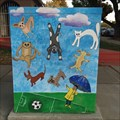 Image for Soccer-theme Utility Box - San Jose, California