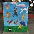 Image for Soccer-theme Utility Box - San Jose, California