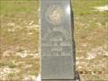 Image for Geo D. Morrell - Gunlock Cemetery - Pine Log State Forest, Ebro, FL