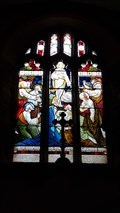 Image for Stained Glass Windows - St Colanus - Colan, Cornwall