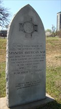 Image for Veteran's Park Spanish American War Memorial - Tulsa, OK