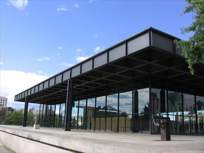 mies van der rohe neue nationalgalerie berlin germany master architects international. Black Bedroom Furniture Sets. Home Design Ideas
