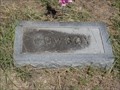 Image for FIRST Known Burial in Roberts Branch Cemetery - Jack County, TX